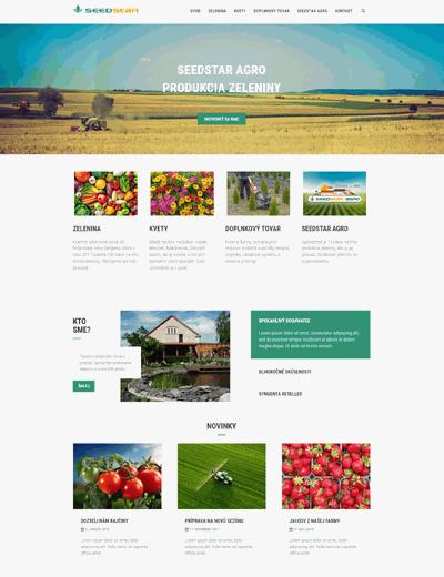 Seedstar.sk screenshot